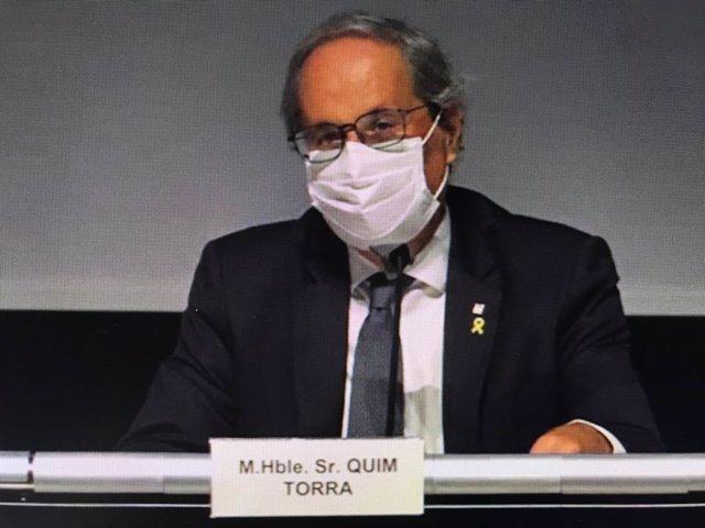 Arxiu - L'expresident de la Generalitat Quim Torra