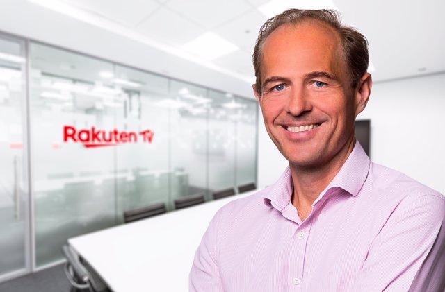 El nuevo CEO en las oficinas de Rakuten TV