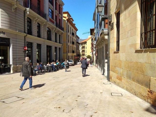 Archivo - Terrazas en Oviedo