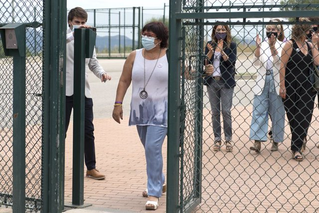 Archivo - Arxiu - L'exconsellera Dolors Bassa (ERC) surt de la presó de Puig de les Basses