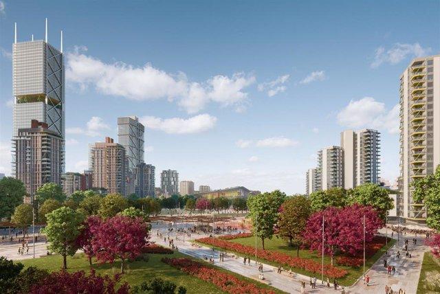 Proyecto desarrollo urbanístico Madrid Nuevo Norte