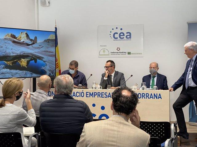 El ministre Filloy presideix la reunió a les instal·lacions de la CEA