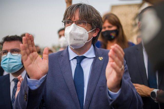 Arxiu - L'expresident de la Generalitat Carles Puigdemont