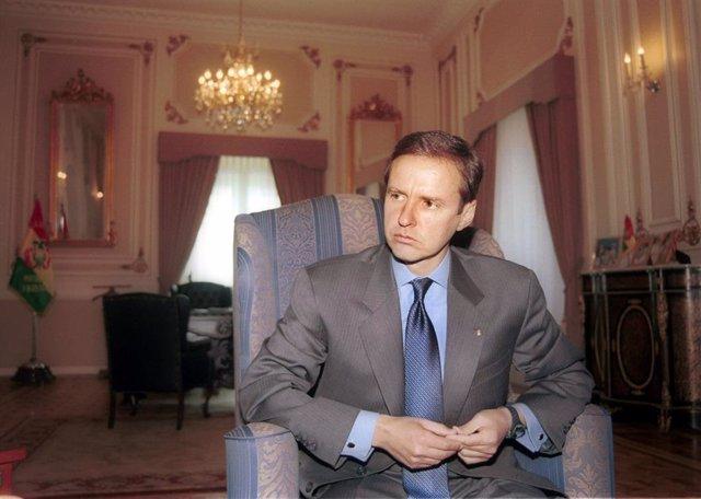 Archivo - El expresidente de Bolivia Jorge Quiroga (2001-2002)