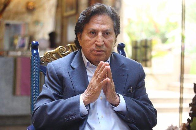 Archivo - El expresidente de Perú Alejandro Toledo