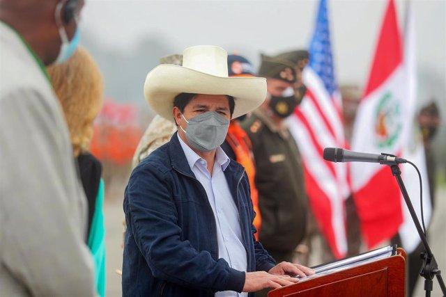 Archivo - El presidente de Perú, Pedro Castillo.