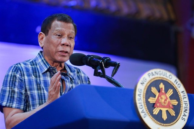 Archivo - El presidente de Filipinas, Rodrigo Duterte