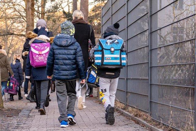 Archivo - Colegio de primaria en Berlín