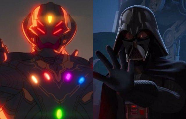 Ultrón y Darth Vader