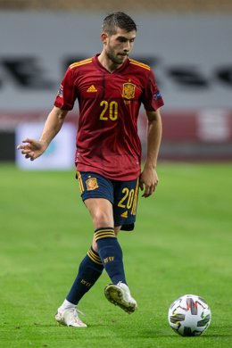 Archivo - Sergi Roberto of Spain during the UEFA Nations league match between Spain and Germany at the la Cartuja Stadium on November 17, 2020 in Sevilla Spain