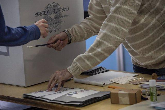 Archivo - Elecciones en Italia