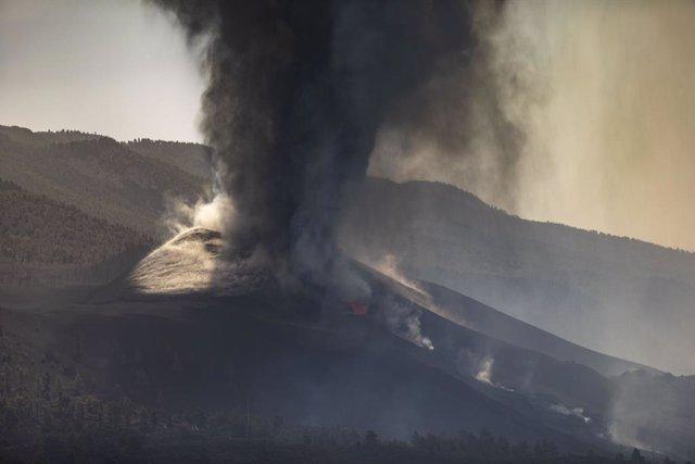 Arxiu - El volcà de La Palma