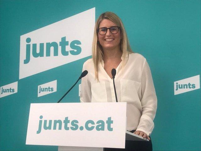 Arxiu - La vicepresidenta de Junts, Elsa Artadi