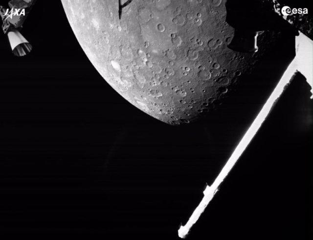 Mercurio a la vista de BepiColombo