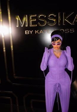 Cardi B at Messika by Kate Moss