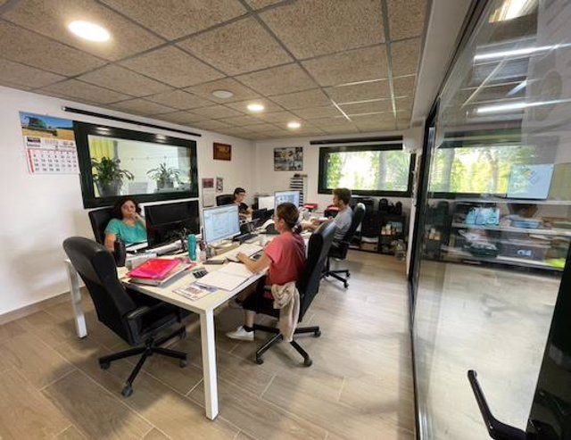 Oficinas de Dream Fontanilles.