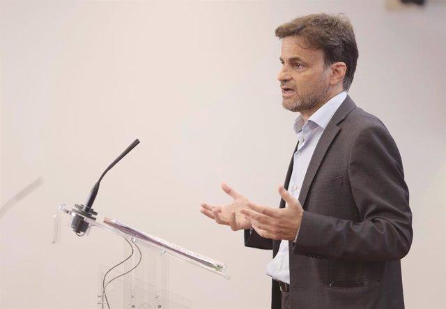Arxiu - El president del grup parlamentari d'Unides Podem al Congrés, Jaume Asens