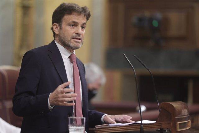 Archivo - Arxiu - El president del grup parlamentari d'Unides Podem al Congrés, Jaume Asens