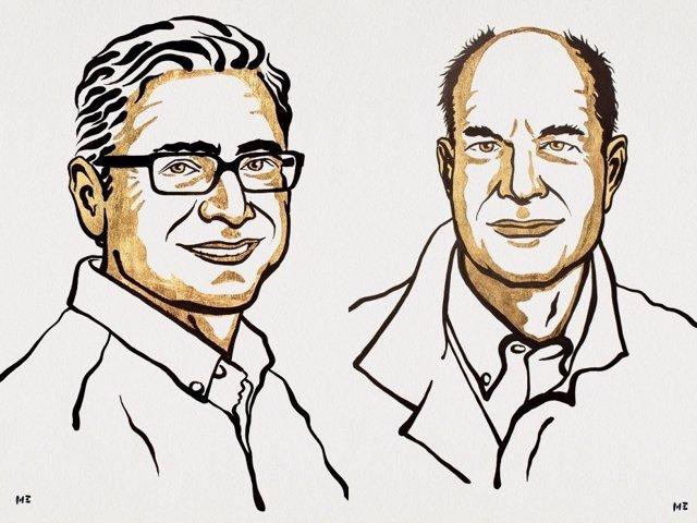"""David Julius y Ardem Patapoutian, Premio Nobel de Fisiología y Medicina 2021 conjunto """"por sus descubrimientos de los receptores de la temperatura y el tacto"""""""