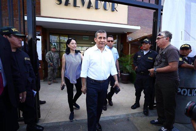 Archivo - El expresidente de Perú Ollanta Humala (2011-2016)
