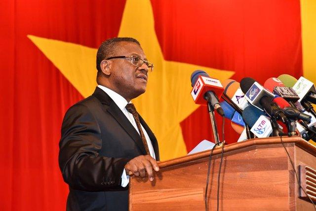 Archivo - El primer ministro de Camerún, Joseph Dion Ngute