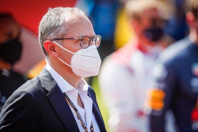 Archivo - DOMENICALI Stefano, President & Chief Executive Officer of F1, portrait during the Formula 1 Pirelli British Grand Prix 2021, 10th round of the 2021 FIA Formula One World Championship from July 16 to 18, 2021 on the Silverstone Circuit, in Silve