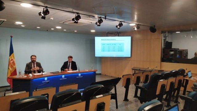 Jover i Hinojosa presenten el balanç fiscal