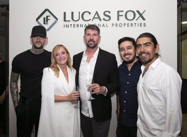 LUCAS FOX APUESTA POR EL ARTE