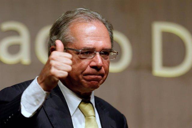Archivo - El ministro de Economía de Brasil, Paulo Guedes