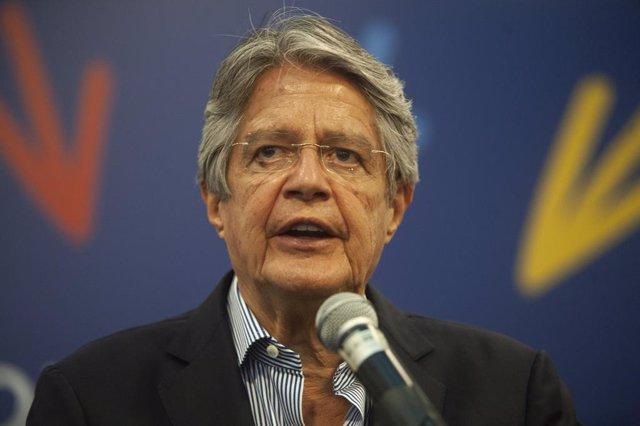 Archivo - El presidente electo de Ecuador, Guillermo Lasso