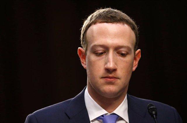 Archivo - Arxiu - El fundador i conseller delegat de Facebook, Mark Zuckerberg