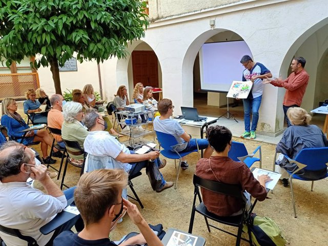 Taller de Uronías Gráficas en Cáceres
