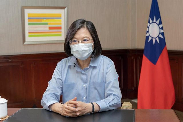 Archivo - La presidenta de Taiwán, Tsai Ing Wen.