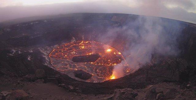 Erupción en el volcán Kilauea