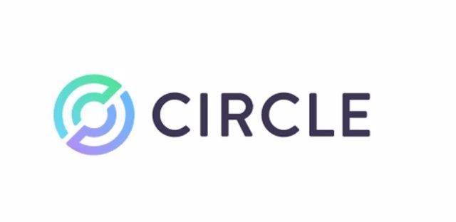 Logo de la empresa 'fintech' Circle, creadora de la 'stablecoin' USDC.