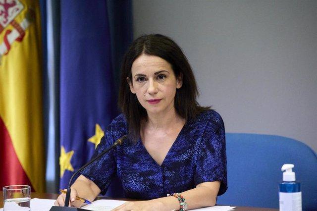 Archivo - La secretaria de Estado de Sanidad, Silvia Calzón, interviene durante una rueda de prensa para informar sobre la pandemia de Covid-19, a 26 de julio de 2021, en el Ministerio de Sanidad, Madrid, (España).