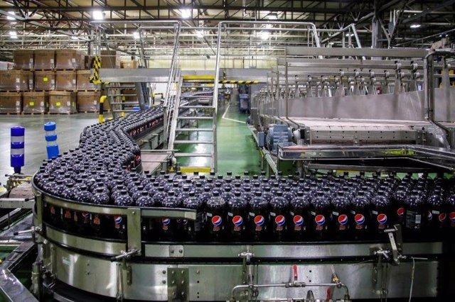 Archivo - Planta de PepsiCo