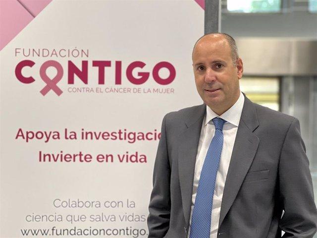 El doctor Javier Cortes, presidente Fundacion Contigo.