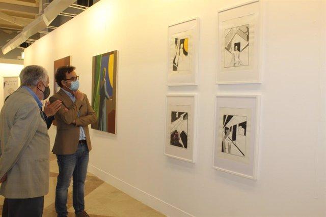 La exposición de pinturas 'Luciérnagas', de Andrés Rábago, El Roto.