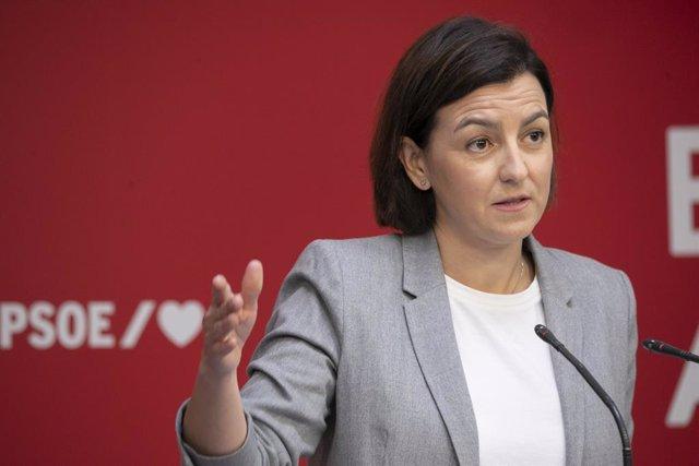 Arxiu - La portaveu del Comitè Organitzador del 40è Congrés Federal del PSOE, Eva Granados