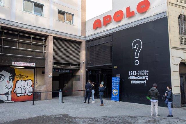 Archivo - Arxiu - Sala Apolo de Barcelona