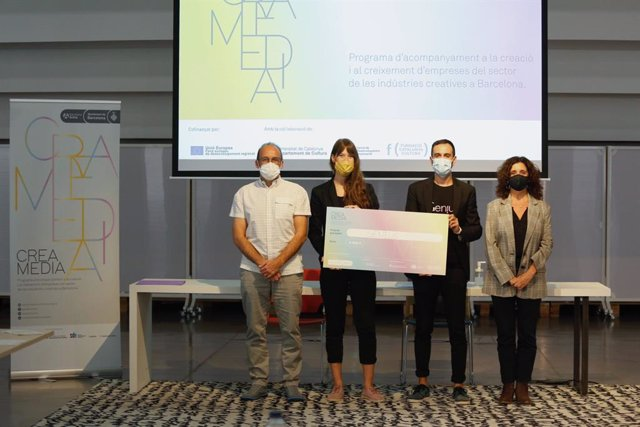 El CREAmedia 2021 ha premiat Genius, una app per incentivar la creativitat