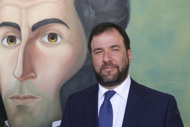 Archivo - Yván Gil, designado por Venezuela como encargado de negocios ante la UE.