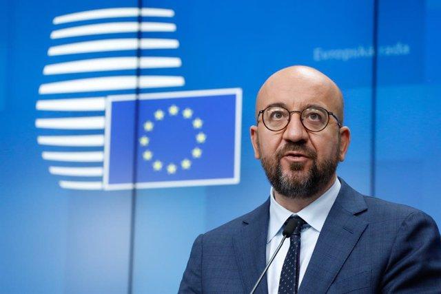 Archivo - Arxiu - Charles Michel, president del Consell Europeu.