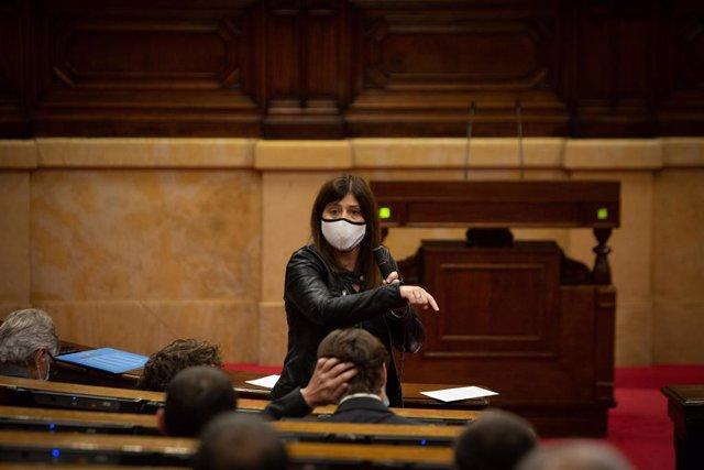 La consellera d'Universitats i Recerca de la Generalitat, Gemma Geis