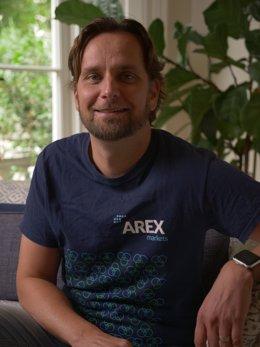 El confundador de Arex Markets, Perttu Jalkanen.