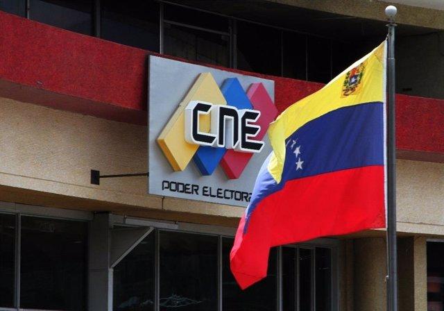 Sede del Consejo Nacional Electoral de Venezuela (CNE)