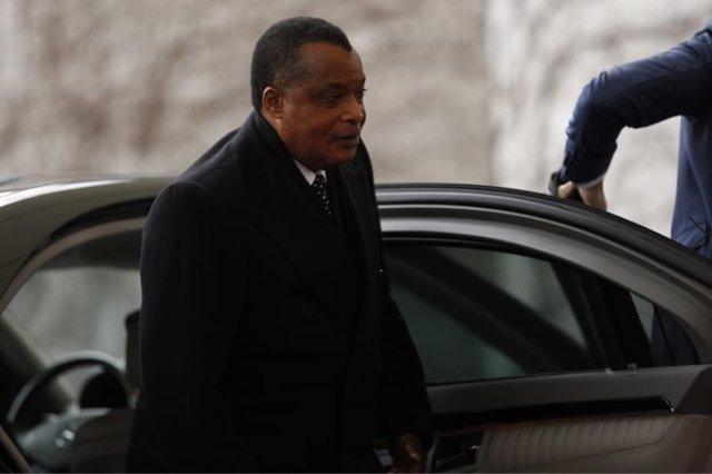 Archivo - El presidente de Congo, Denis Sassou Nguesso