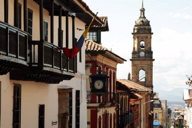 Archivo - Imagen de La Candelaria en Bogotá (Colombia)