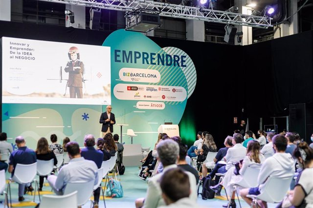 Sessió sobre emprenedoria a BizBarcelona